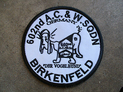 vintage 1990 602nd A.C.&W Squadron Birkenfeld Germany Reunion Patch #1