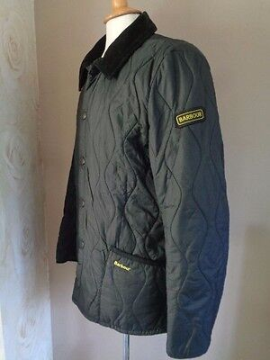 Barbour Liddesdale Track Quilt Jacket Small - rrp £109.00