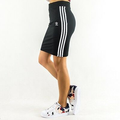 2016Adidas Originals Womens 3 Stripes Skirt Black/White AY5236 sz XS-M sold out
