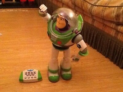 "Toy Story 3 Ultimate Programmable  Buzz Lightyear Very rare Collectable 16""tall"