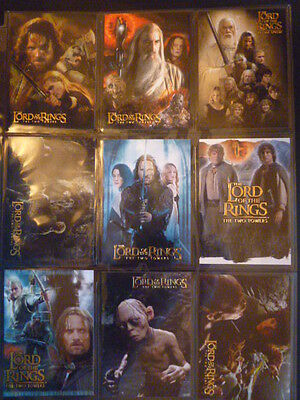 Lord Of The Rings TTT Hobby Japan  Ultra Rare  9 Card Exclusive Chase Set