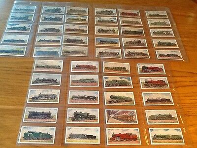 Set Of  50  Wills  Railway. Engines   Cards  In Very  Good  Cond