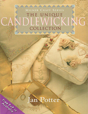 NEW The Unique Candlewicking Collection by Jan Potter