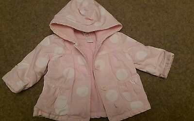baby girls coat 0-3 months very good/ excellent condition