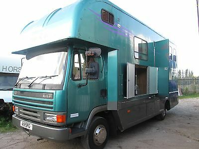 Stunning 1993 Coachbuilt Horsebox For 3 Horses With Lovely Living.**reduced**