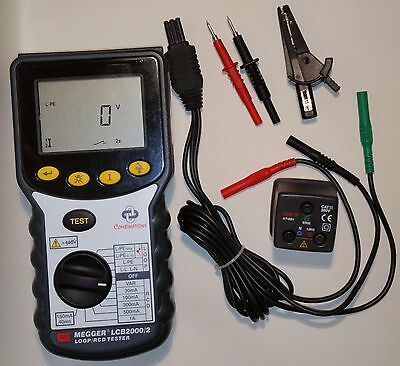 Megger LCB2000 combined RCD and Loop Tester / Multimeter