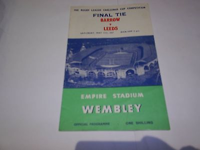 1957 Challenge Cup Final
