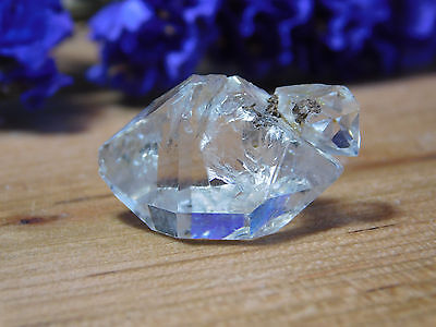 Herkimer Diamond Crystal Cluster of 4, Genuine New York Mineral, Jewelry Grade
