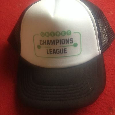 Champions League Darts Official Hat And Signed Mark Webster Flyer Phil Taylor