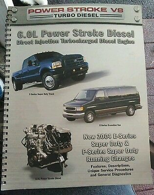 2004 Ford Super Duty Truck 6.0L Turbo Diesel New Model Manual Full Color Rare