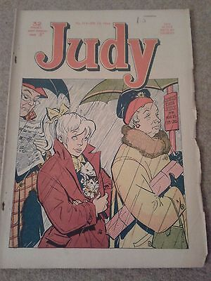 Judy vintage Comic  Issue No. 214 February 15th1964