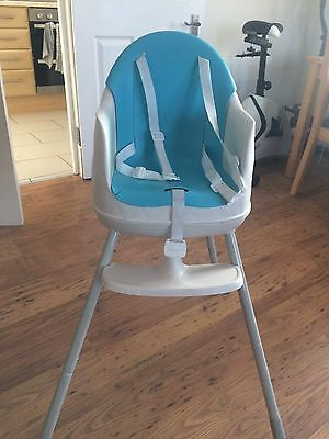 Keter Multi Dine 3 In 1 Blue High Chair