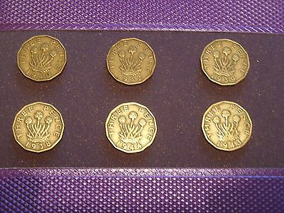 Brass Threepence