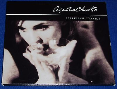 Sparkling Cyanide by Agatha Christie 3 disc audio book read by Nigel Anthony