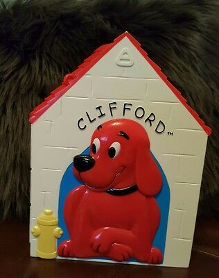 Rare Clifford Big Red kennel ONLY Scholastic