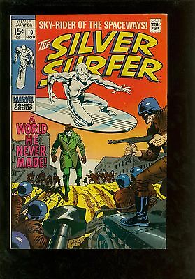 Silver Surfer 10 VF- 7.5 - Large Scans