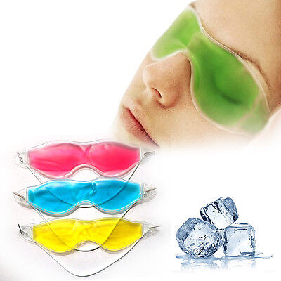 Ice Eye Pack Mask Hot Cold Gel Pad Relief Migrane Headache Hangover Relaxing