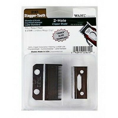 Wahl Magic Cordless Clip Replacement Clipper Blade **crunch Blade Technology**