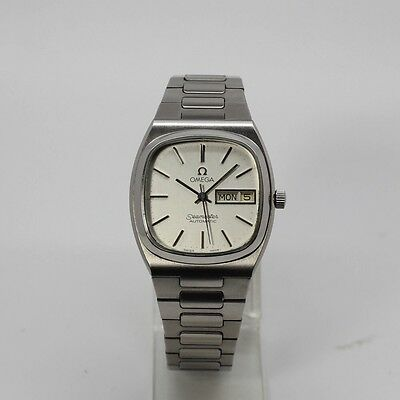 Vintage Omega Seamaster Stainless Steel Automatic Watch For Men