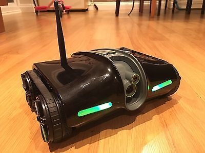 Brookstone Rover 2.0 App-Controlled Wireless Spy Tank Night Vision Stealth mode