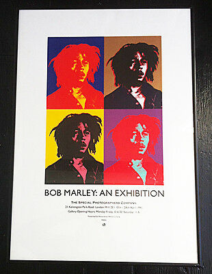 BOB MARLEY SIGNED AND NUMBERED EXHIBITION PRINT Photographer Adrian Boot 1991