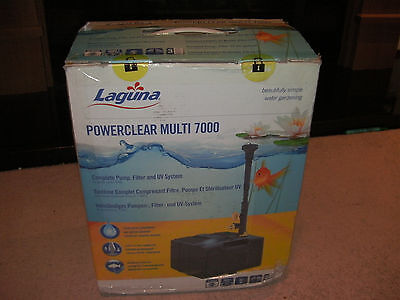 Laguna PowerClear Leisure Multi Filter 7000 L Pump Filter UV System - New