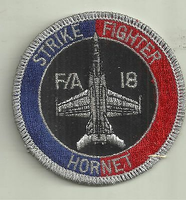 F/a 18 Strike Fighter Hornet  Royal Australian Air Force Raaf Patch