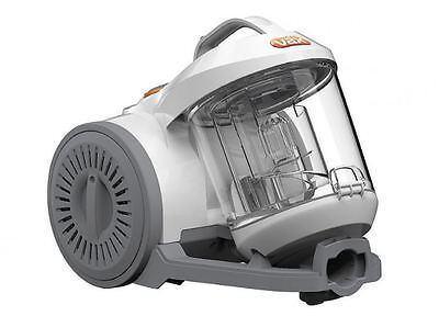 Vax VWC White Bagless Cylinder Vacuum Cleaner Cyclonic Power Filtration New