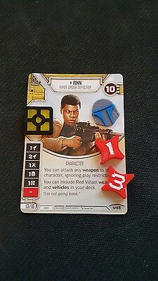 Star Wars Destiny Credit Resource Shield and Damage tokens set! Dual color!