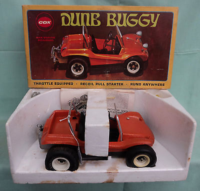Vintage COX Gas Powered .049 Dune Buggy @1969 Orange Metallic + Original Box