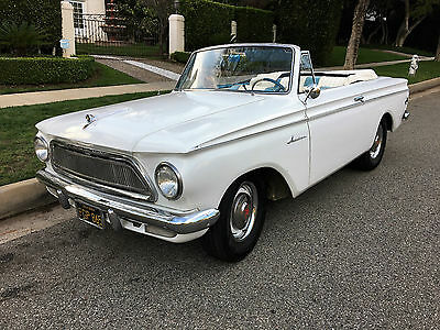 1962 AMC Other American Convertible Hot Rod AWESOME Custom V8 Rambler Convertible Hot Rod Classic Excellent TRADE ?