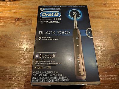 Oral-B Black 7000 with Bluetooth Technology Electric Rechargeable Toothbrush