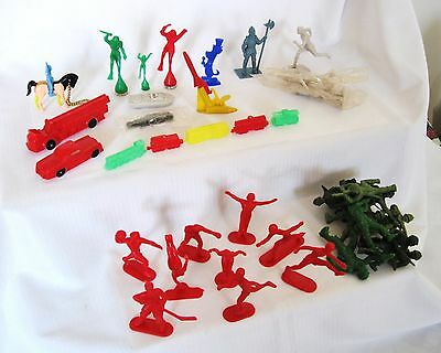 Vintage  50S/60S Kelloggs Cereal Premium Lot....a Bit Of Everything...lot Two