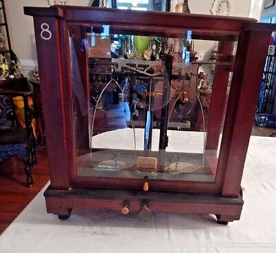 Christian Becker Chainomatic Scientific Balance Scale New York Pat. Nov 7, 1918