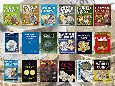 Krause Standard Catalog Of World Coins 5 Catalogues 1601-2017 + Bonus On Dvd