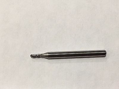 1/16 Solid Carbide Ball Nose End Mill New 4 Flute 213-0625
