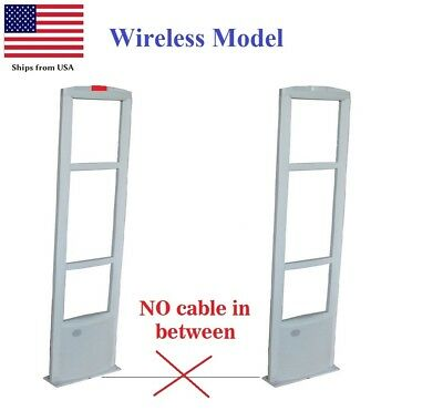 Wireless -NO Cable Stand-alone EAS RF 8.2 MHz Anti-theft Security Antenna System