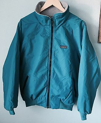Vtg PATAGONIA Lined Full Zip Jacket Blue Size 13/14
