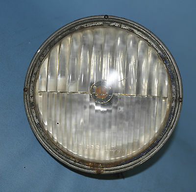 Trippe Beam Light  7 Seven Inch Tear Drop Chrome For Restoration W/ Bulb
