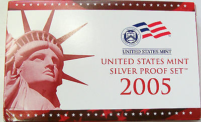 2005 Silver 11-Coin Proof Set