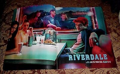 2017 Mint Print Ad Poster Riverdale The CW Series Premiere Great place to get aw