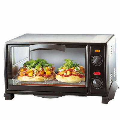 Sunbeam BT2600 9L Mini Bake And Grill Benchtop Oven Toaster Cooker