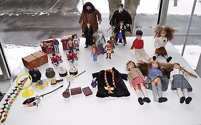 1990s 2000s RARE Lot Set Harry Potter Dolls Toys Accessories Figures Hermione