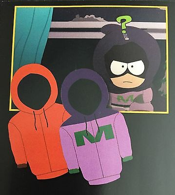 SOUTH PARK loot crate exclusive 20th KENNY MYSTERION reversible HOODIE XXL