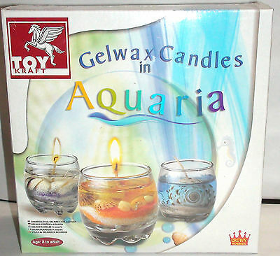 Gelewax Candles In Aquaria-A Gel Candle Making Kit For You Kids-(Kidstoyshub)