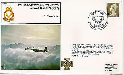 40th ANNIVERSARY OF FORMATION AIR TRAINING CORPS COVER REF 706