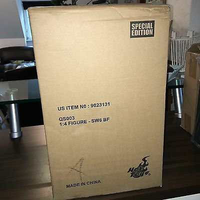 Hot Toys 1/4 Boba Fett SW6 QS003 Special Version Star Wars , Exclusive , sealed