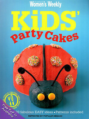 NEW Kids Party Cakes by Womens Weekly