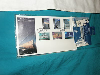Antarctic Landscapes - 1996 Ross Dependency Issue Fdc - New - Sealed