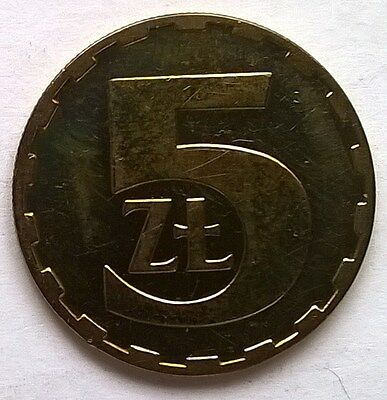 Poland 5 Zlotych 1984 Brass Coin